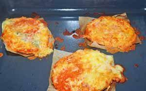 Mini Pizzas Queso
